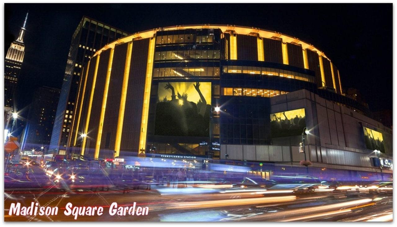 31 мая. Мэдисон Сквер Гарден.