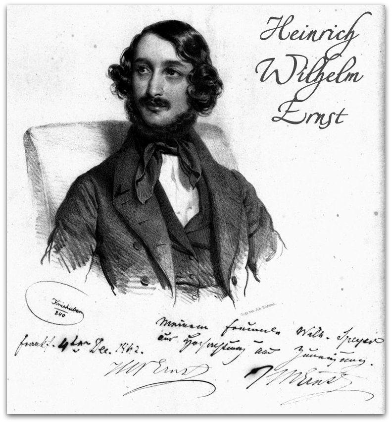 8 июня. Генрих Вильгельм Эрнст.