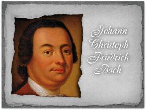21 июня. Иоганн Кристоф Фридрих Бах.