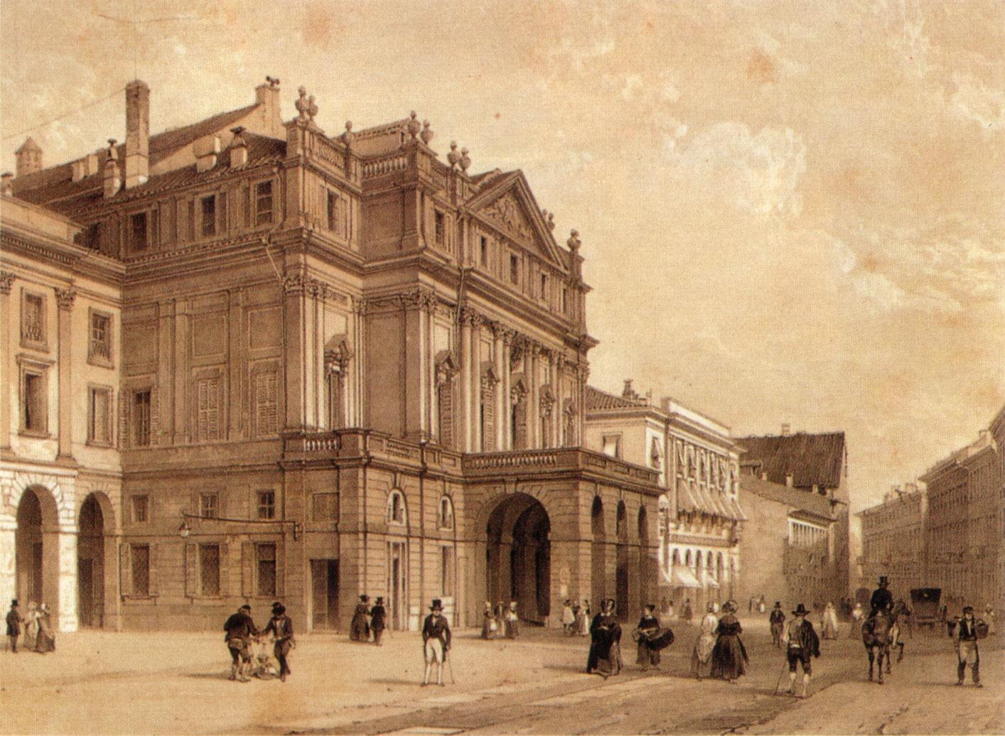 3 августа. Открытие театра «Ла Скала».
